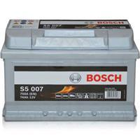 bmw Bosch S5 007 Silver Accu 74 Ah