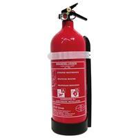 Carpoint brandblusser ABF met manometer schuim 2 L rood 25 cm