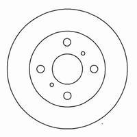 A.B.S. Bremsscheiben 15895 Scheibenbremsen,Bremsscheibe TOYOTA,COROLLA Compact _E10_,COROLLA _E11_,COROLLA Liftback _E10_,COROLLA Liftback _E9_