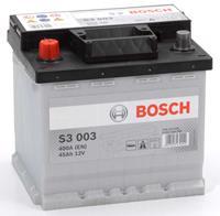 Alfa Bosch S3 003 Black Accu 45 Ah