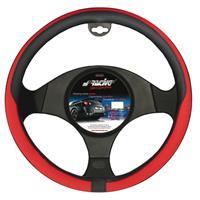 Simoni Racing Stuurwielhoes Tidy - 37-39cm - Zwart/Rood