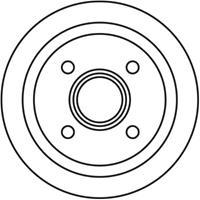 A.B.S. Bremstrommel 2739-S  OPEL,VAUXHALL,CORSA C F08, F68,TIGRA TwinTop,CORSA C Kasten F08, W5L,CORSA Mk II C W5L, F08,CORSAVAN Mk II C
