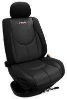 Simoni Racing Stoelhoezenset Type A (voorstoelen) - Zwart - 4-delig