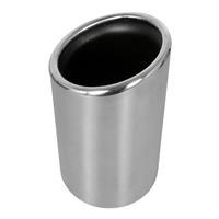 Carpoint uitlaatsierstuk Inox rond 45 60 mm zilver 14 cm