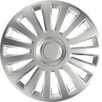 4-Delige Wieldoppenset Luxury Silver 14 Inch