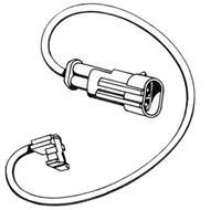 A.B.S. Verschleißanzeige 39902 Verschleißanzeige Bremsbeläge,Bremsbelagverschleiß IVECO,DAILY III Pritsche/Fahrgestell,DAILY III Kasten/Kombi