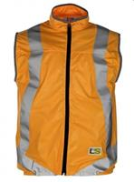 L2S veiligheidsvest VisioLight unisex oranje maat S