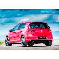 Achterbumperskirt Volkswagen Golf VII 3/5-deurs Facelift 2017+ GTI-look