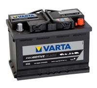 mercedes-benz Varta Accu Pro Motive Black D33 66 Ah
