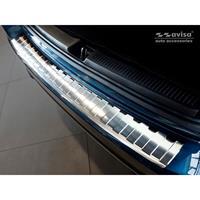 mercedes-benz RVS Achterbumperprotector Mercedes B-Klasse W247 2018-Ribs'