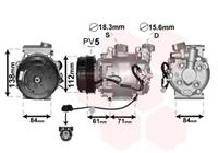 honda Compressor, airconditioning