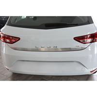 RVS Kofferbaksierlijst Seat Leon (5F) HB 5-deurs 2013-