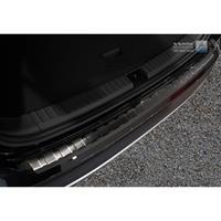 Zwart RVS Achterbumperprotector Seat Ateca 2016-Ribs'