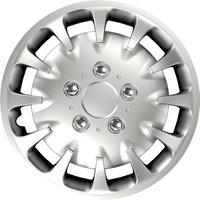 4-Delige Wieldoppenset Bolt NC Silver 16 inch