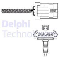 DELPHI Lambdasonde ES20135-12B1 Lambda Sensor,Regelsonde OPEL,CHEVROLET,DAEWOO,ZAFIRA A F75_,ASTRA G CC F48_, F08_,ASTRA G Caravan F35_,VECTRA B 36_
