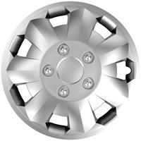 4-Delige Wieldoppenset Nova NC Silver 16 inch