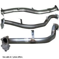 100% RVS Middenpijp Peugeot RCZ 1.6THP (200pk) 2010- (Ø63,5mm)