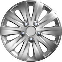 4-Delige Wieldoppenset rapide NC Silver 16 inch