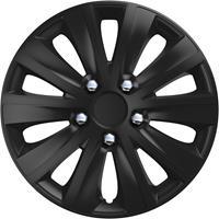 4-Delige Wieldoppenset rapide NC Black 13 inch