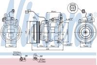 kia Compressor, airconditioning