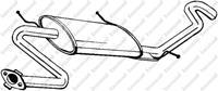 BOSAL Endschalldämpfer 278-339 ESD,Endtopf MAZDA,323 III Hatchback BF,323 III BF,323 III Station Wagon BW,323 II BD