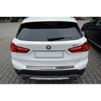 RVS Achterbumperprotector BMW X1 F48 2015-Ribs'