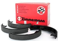Zimmermann Handbremsbeläge 10990.128.0 Handbremsbacken,Bremsbackensatz, Feststellbremse MERCEDES-BENZ,PORSCHE,CHRYSLER,C-CLASS W203,A-CLASS W169