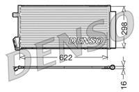 DENSO Klimakondensator DCN09018 Kondensator,Klimakühler FIAT,DOBLO Kasten/Kombi 263,DOBLO Großraumlimousine 152, 263,DOBLO Pritsche/Fahrgestell 263
