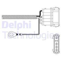 DELPHI Lambdasonde ES11010-12B1 Lambda Sensor,Regelsonde VW,SEAT,NISSAN,GOLF III 1H1,GOLF II 19E, 1G1,PASSAT Variant 3A5, 35I,GOLF III Cabriolet 1E7