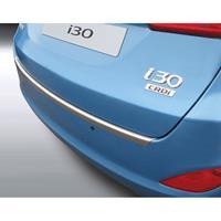 ABS Achterbumper beschermlijst Hyundai i30 Tourer 2012-Brushed Alu' Look