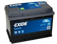Alfa Exide Accu Excell EB741 74 Ah