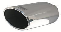 Simoni Racing Uitlaatsierstuk Ovaal/Schuin RVS - Diameter 150x100mm - Lengte 250mm - Montage 54mm