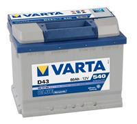 Alfa Varta Accu Blue Dynamic D43 60 Ah