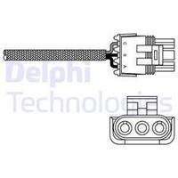 DELPHI Lambdasonde ES10969-12B1 Lambda Sensor,Regelsonde RENAULT,MEGANE Scenic JA0/1_,MEGANE I BA0/1_,MEGANE I Grandtour KA0/1_
