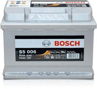 Alfa Bosch S5 006 Silver Accu 63 Ah