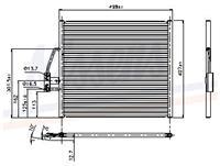 NISSENS Klimakondensator 94274 Kondensator,Klimakühler BMW,5 E39,5 Touring E39