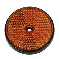 Reflector rond 70mm oranje