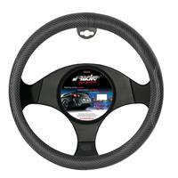 Simoni Racing Stuurwielhoes Inox Nero - 37-39cm - Zwart Carbon-Look