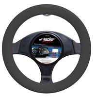 Simoni Racing Stuurwielhoes Soft Silicon - 37-39cm - Zwart