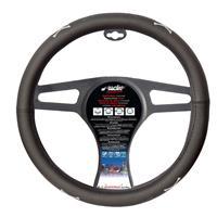 Simoni Racing Stuurwielhoes Skull - 37-39cm - Zwart