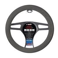 Simoni Racing Stuurwielhoes Beehive Soft Sil - 35-40cm - Zwart