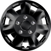 4-Delige Wieldoppenset Nova NC Black 16 inch