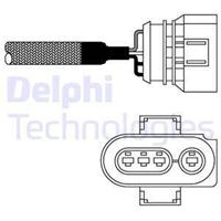 DELPHI Lambdasonde ES10967-12B1 Lambda Sensor,Regelsonde VW,SEAT,MAZDA,TRANSPORTER IV Bus 70XB, 70XC, 7DB, 7DW,GOLF III 1H1,SHARAN 7M8, 7M9, 7M6