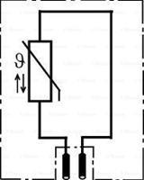 daf Sensor, brandstoftemperatuur