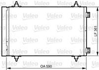 Kondensator, Klimaanlage | Valeo (814366)