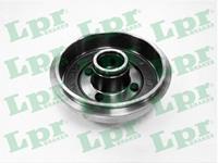LPR Bremstrommel 7D0644  FORD,FIESTA V JH_, JD_,FUSION JU_,FIESTA V Van