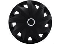 4-Delige Wieldoppenset Craft RC Black (Bolle Velgen) 16 inch