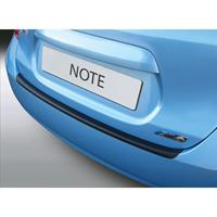 ABS Achterbumper beschermlijst Nissan Note 10/2013- Zwart