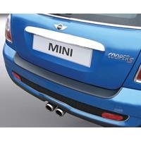 ABS Achterbumper beschermlijst BMW Mini Cooper 2006- Zwart