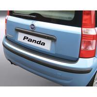 ABS Achterbumper beschermlijst Fiat Panda II 2006- Zwart